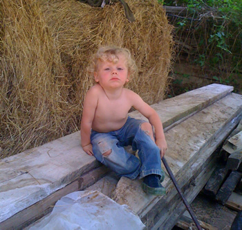 Our Future Farmer, Romolo the Contadino
